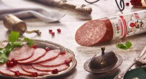 Колбаса полукопченая Зі свининою
