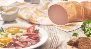 Колбаса вареная З вершками та з телятиною