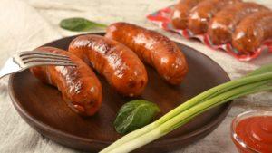 Колбаски полукопченые гриль Кабаносі