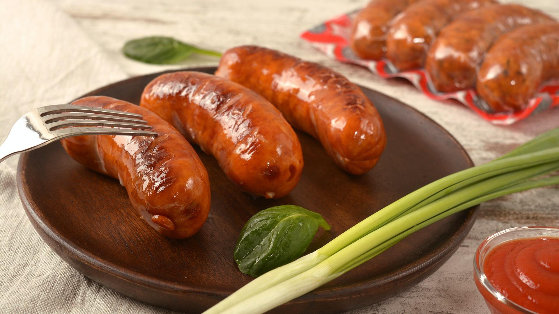 Колбаски полукопченые гриль